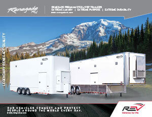 Renegade Premium Steel/FRP Trailers brochure thumb