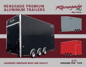 Renegade Premium Aluminum Trailers brochure thumb