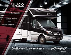2020 Renegade Villagio brochure thumb